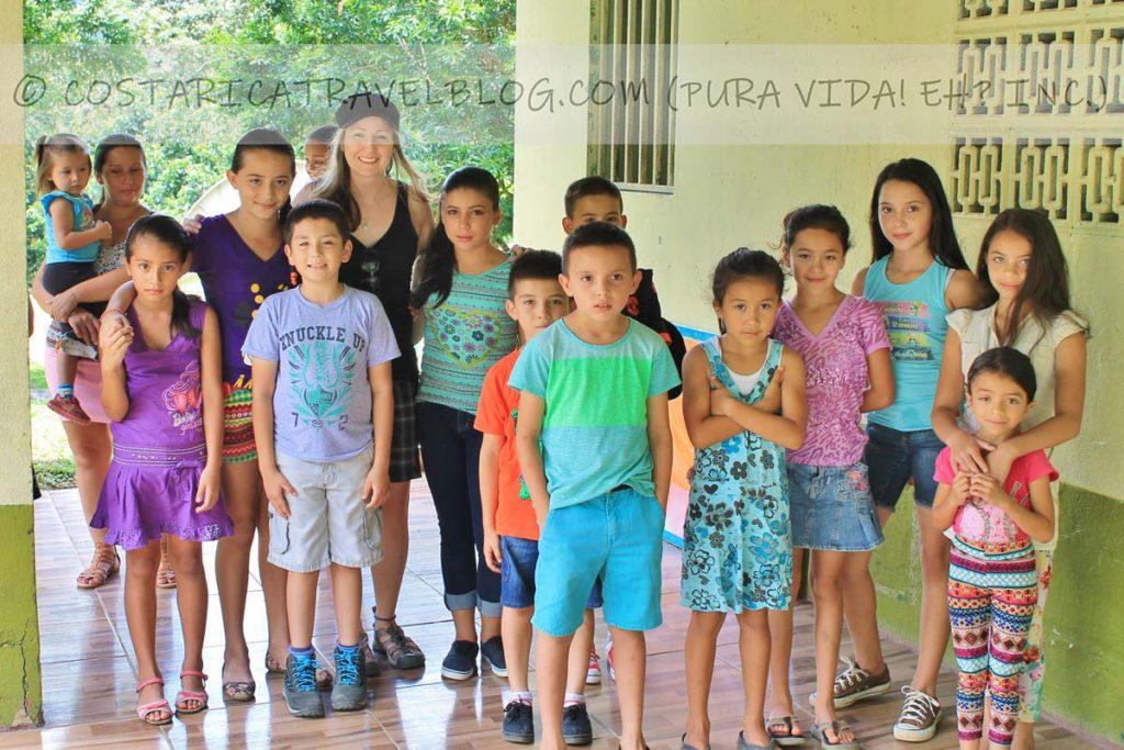 Nikki; school donation project