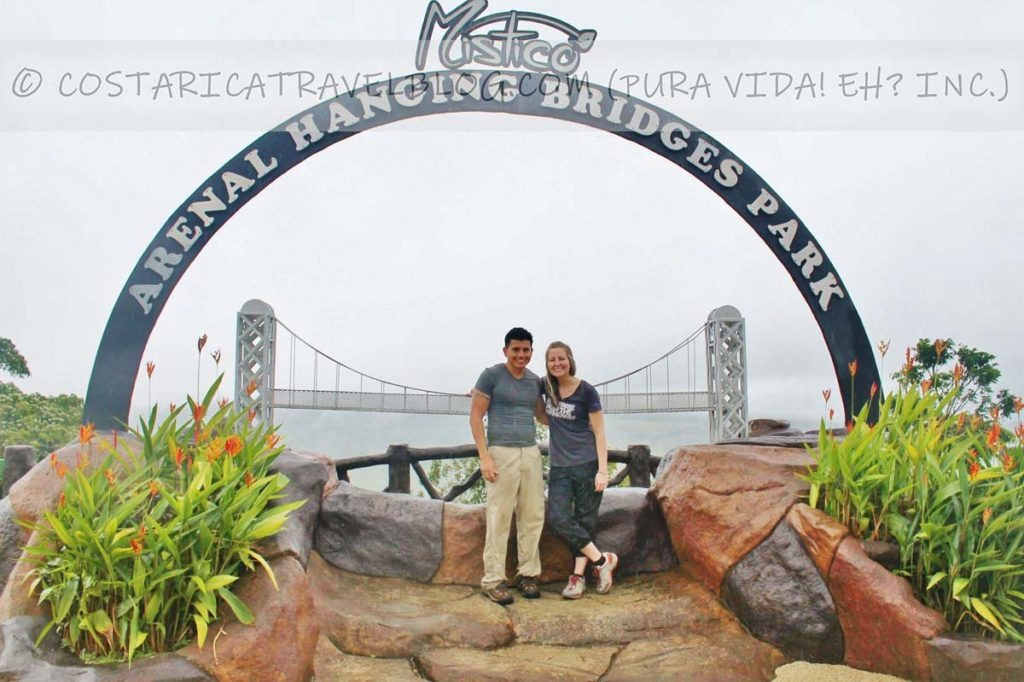 Ricky and Nikki; Mistico Arenal Hanging Bridges Park