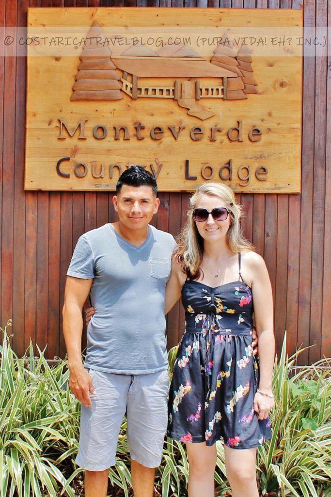 Ricky and Nikki; Monteverde Country Lodge, Monteverde