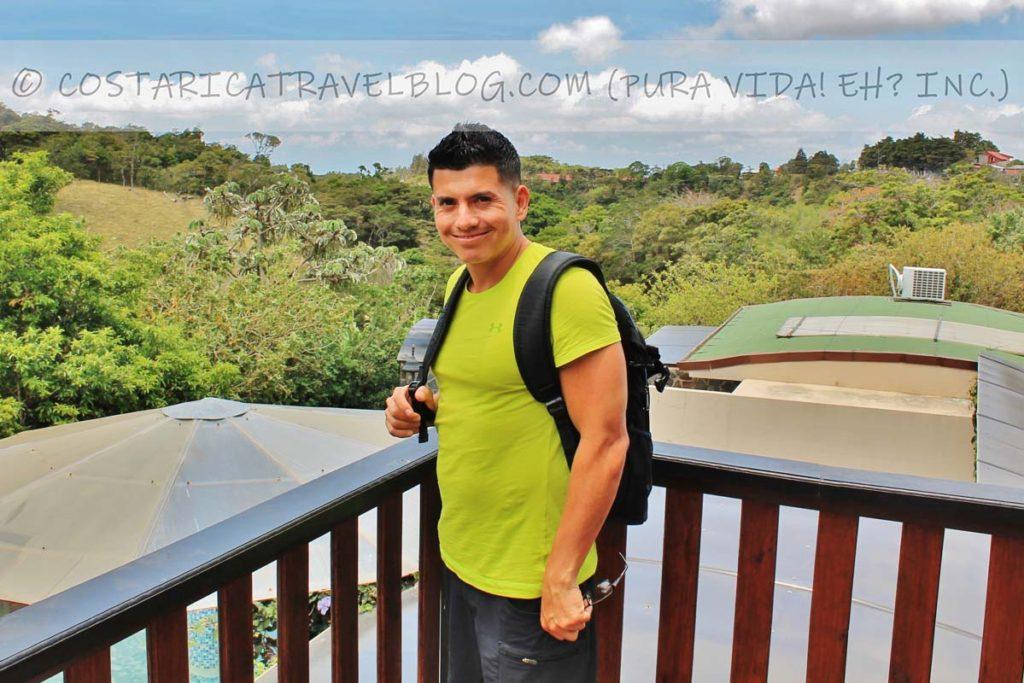 Ricky; Hotel Poco a Poco, Monteverde