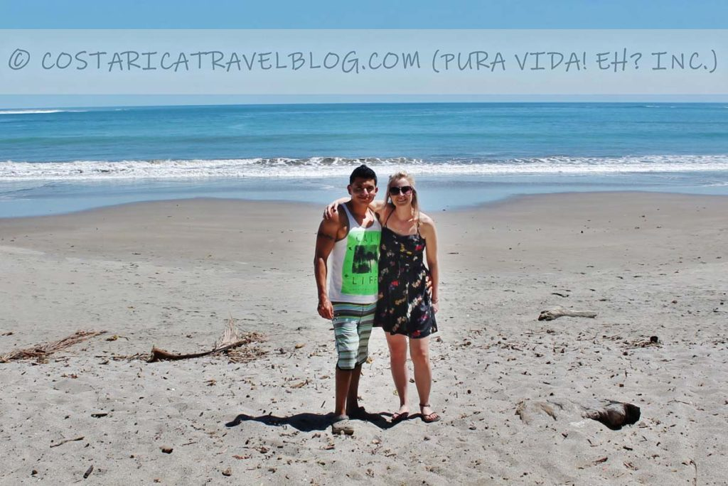 Ricky and Nikki; Playa Garza