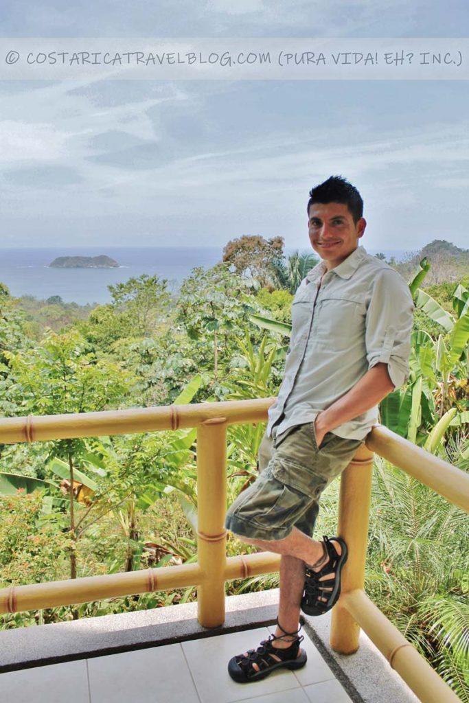 Ricky; Si Como No Resort, Manuel Antonio