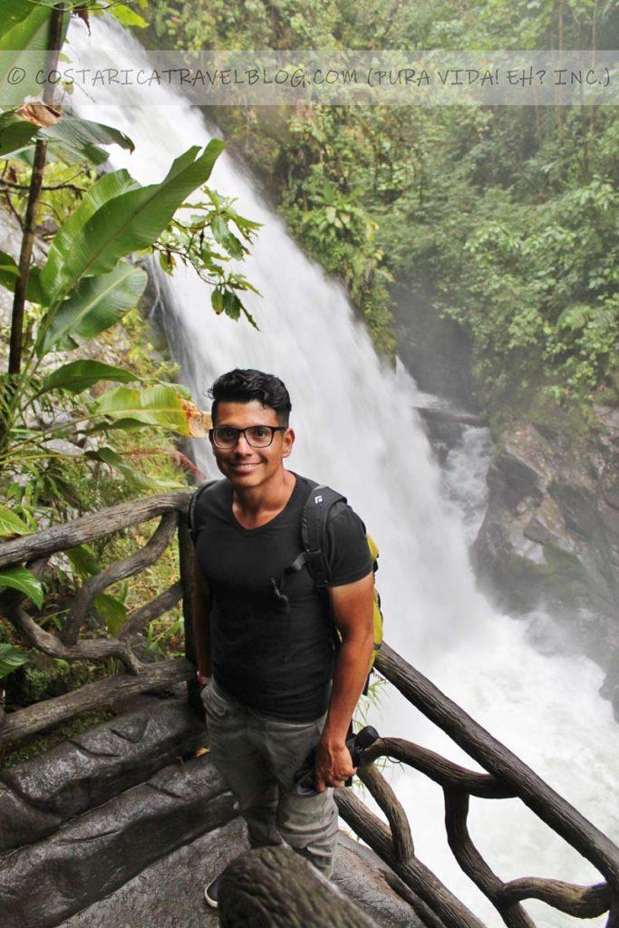 Ricky; La Paz Waterfall Gardens