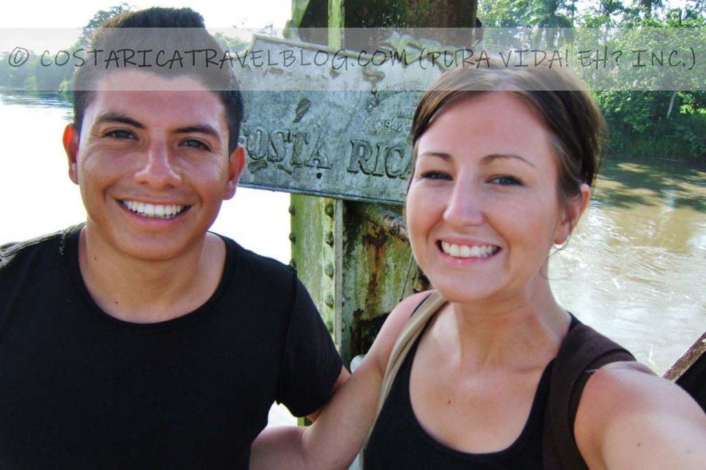 Ricky and Nikki; Costa Rica / Panama border, Sixaola