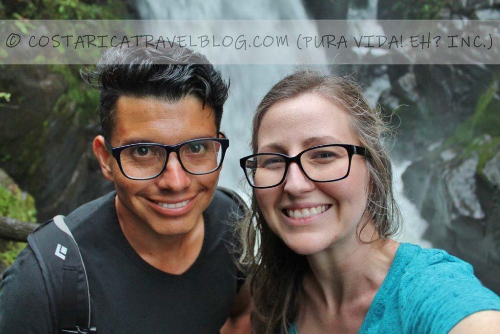 Ricky and Nikki; La Paz Waterfall Gardens