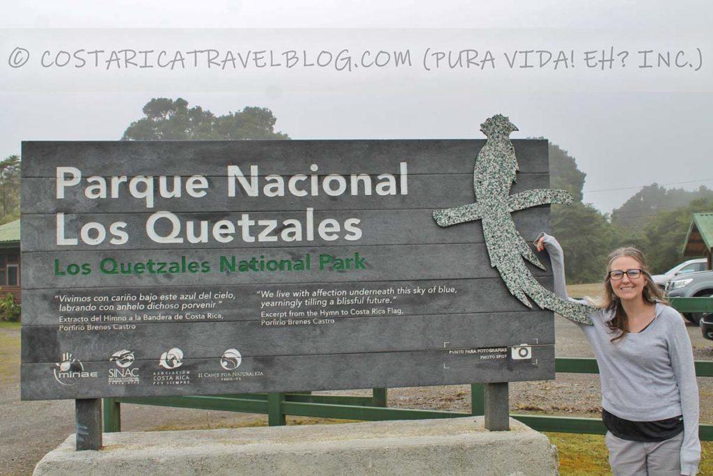 Nikki; Los Quetzales National Park