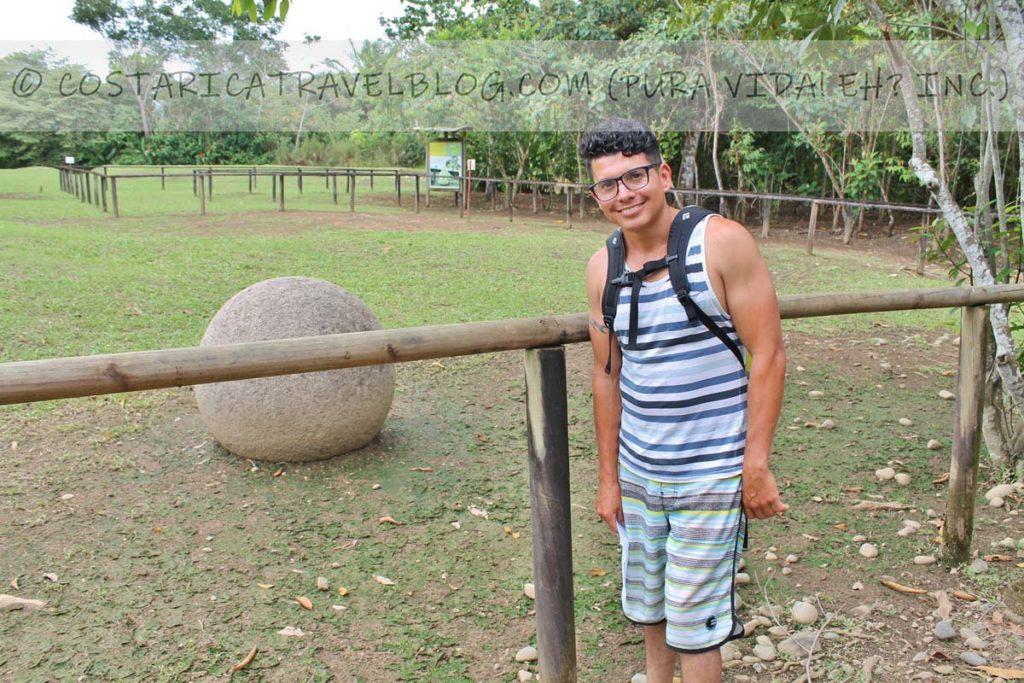 Ricky; Finca 6 Archeological Site, Sierpe