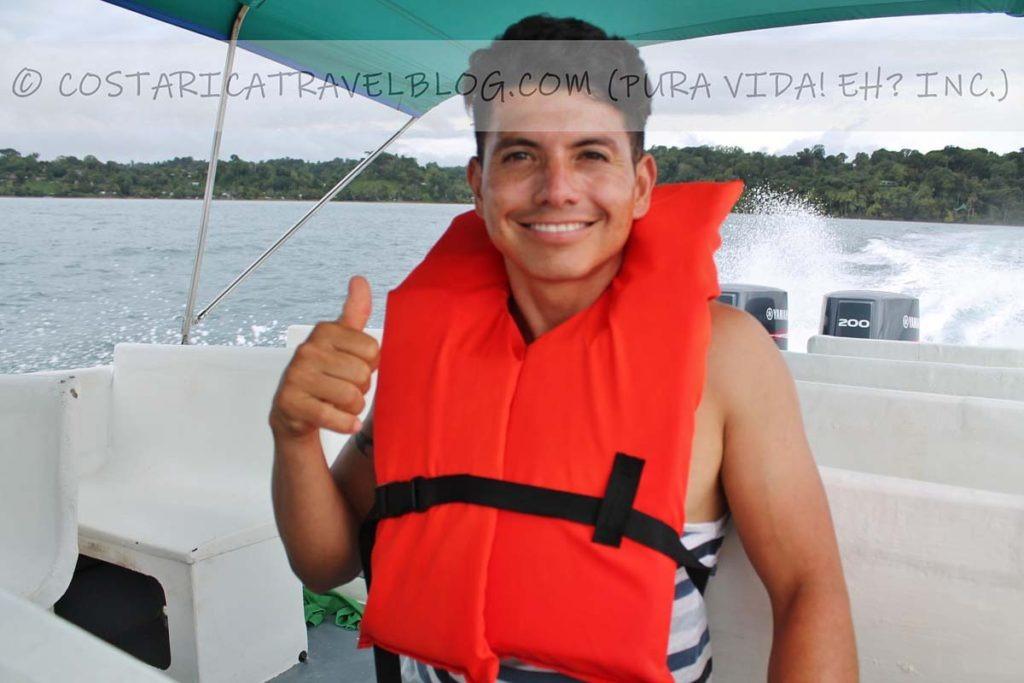 Ricky; Boat ride to Sierpe