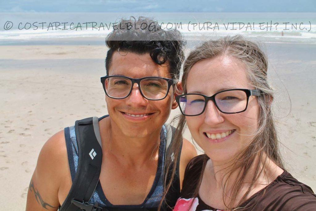 Ricky and Nikki; Playa Santa Teresa