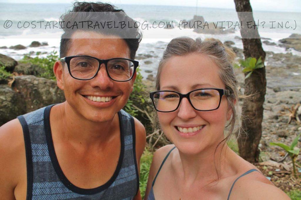 Ricky and Nikki; Playa Montezuma