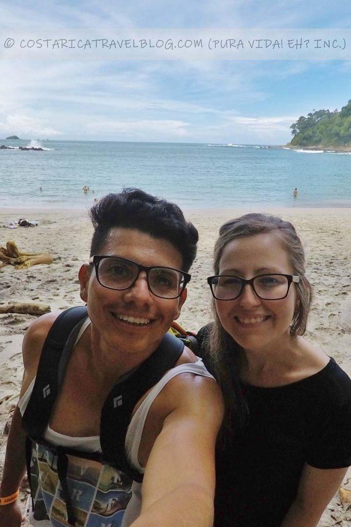Ricky and Nikki; Playa Manuel Antonio