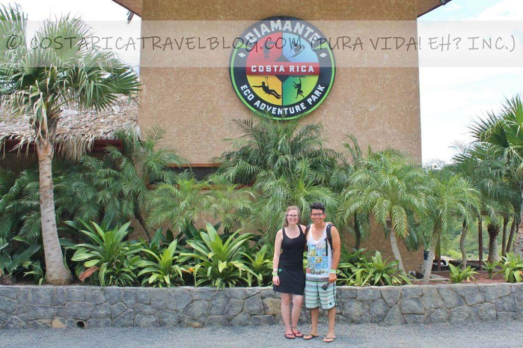 Nikki and Ricky; Diamante Eco Adventure Park