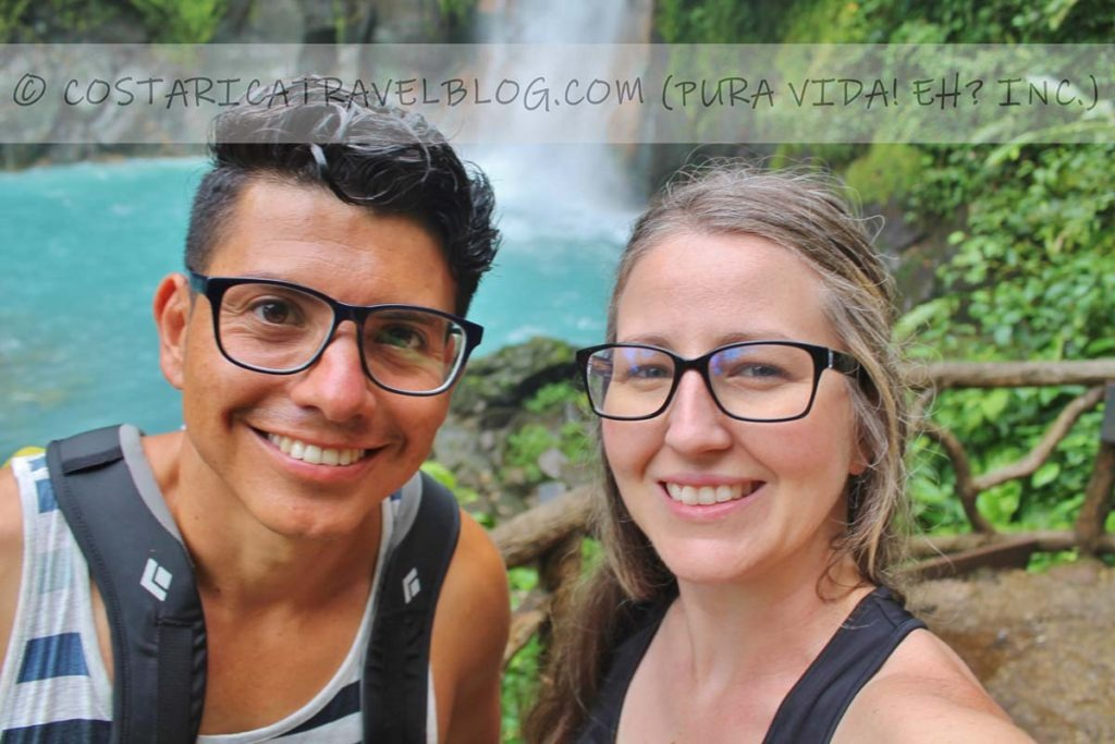 Ricky and Nikki; Rio Celeste, Tenorio Volcano National Park