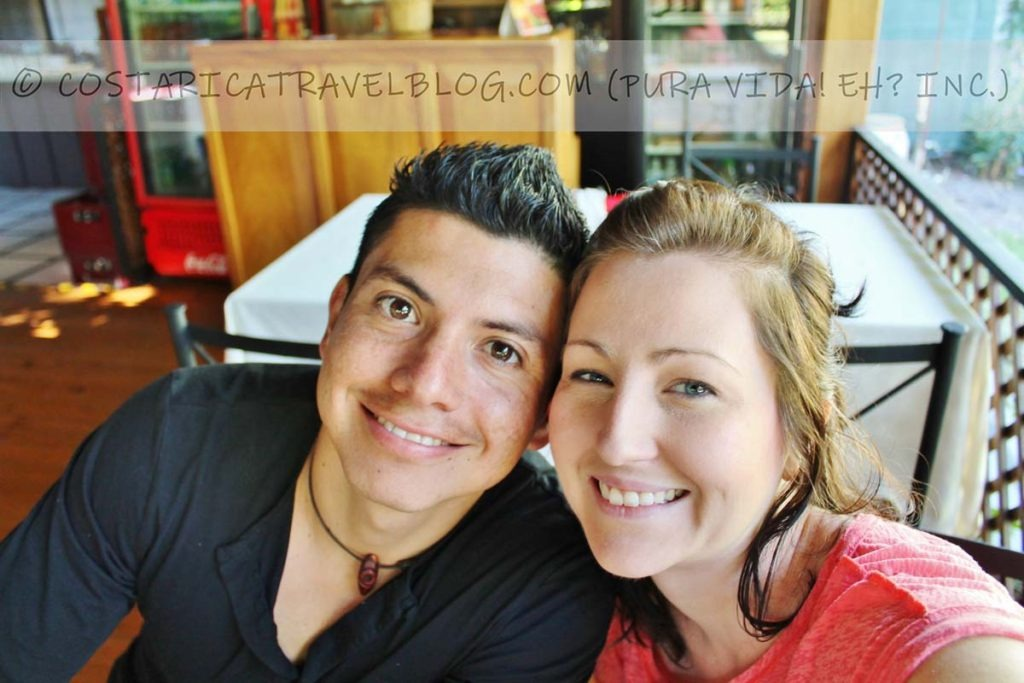 Ricky and Nikki; Hotel Robledal, Alajuela