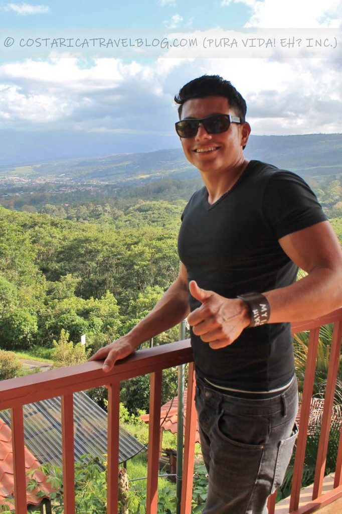 Ricky; Ladera Hotel, Turrialba