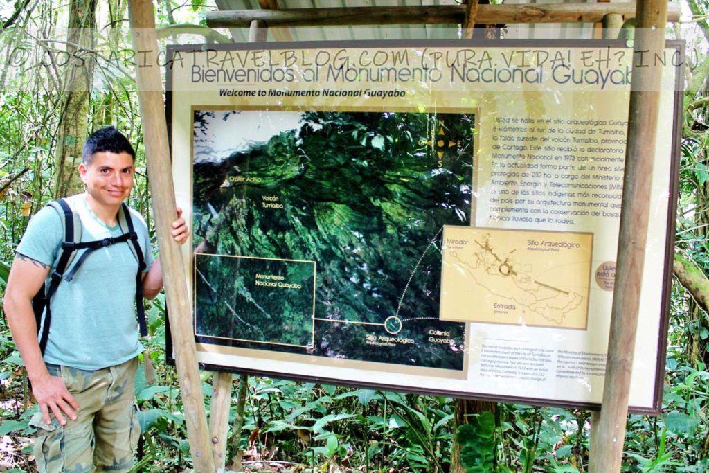 Ricky; Guayabo National Monument