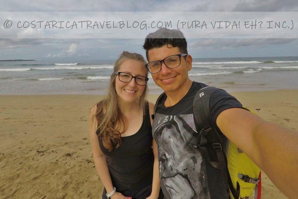 Nikki and Ricky; Playa Grande, Marino Las Baulas National Park