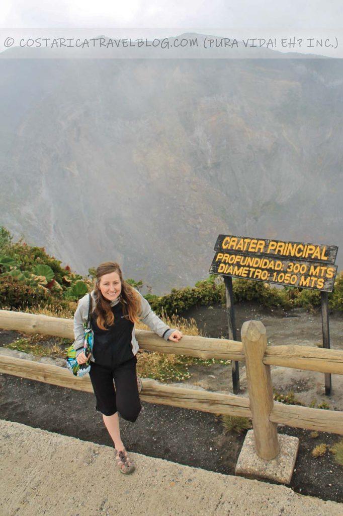 Nikki; Irazu Volcano, Irazu Volcano National Park