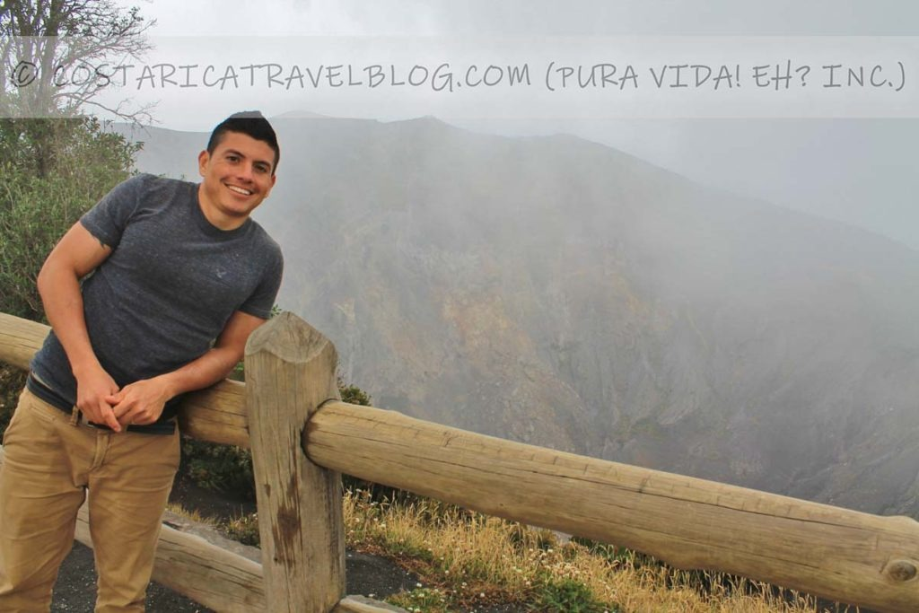Ricky; Irazu Volcano, Irazu Volcano National Park