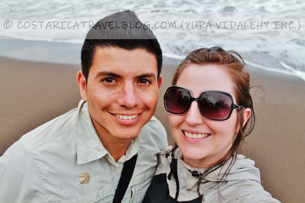Ricky and Nikki; Playa Tortuguero
