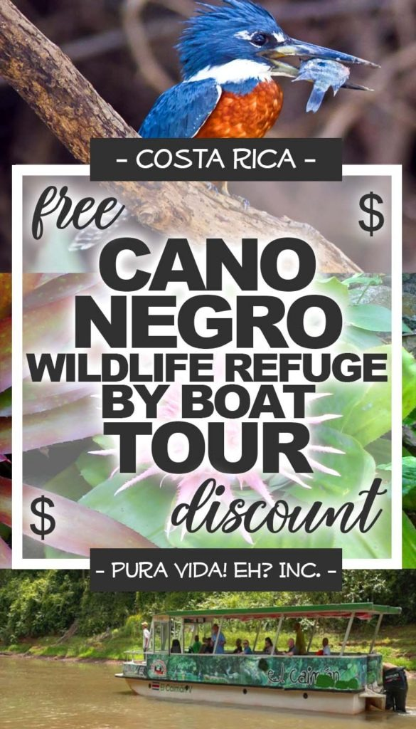 DISCOUNT: Cano Negro Tour by Boat – Adult (From La Fortuna / Operated by Canoa Aventura)