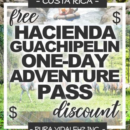 DISCOUNT: One Day Adventure Pass (Ziplining, River Tubing, Horseback Riding, and Hot Springs/Mud Bath) – Adult (From Rincon de la Vieja / Operated by Hacienda Guachipelin)