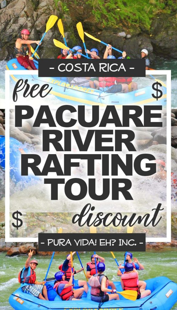 DISCOUNT: Pacuare River Rafting Tour (Class 3/4) – Adult (From San Jose / Operated by Exploradores Outdoors)