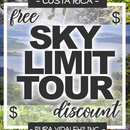 DISCOUNT: Sky Limit Tour – Adult (From La Fortuna / Operated by Sky Adventures)